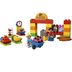 lego duplo supermarket shopping cart building