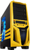 blackyellow raidmax blade mid-tower computer case