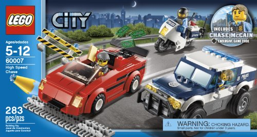 City Police High Speed Chase 60007 Lego Car Sets