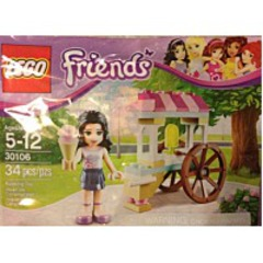Discount Friends Polybag 30106 Emma With Ice Cream