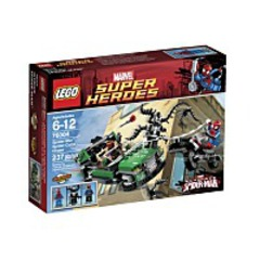 Discount Super Heroes Spidercycle Chase 76004