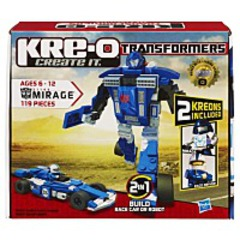 Transformers Mirage Construction Set