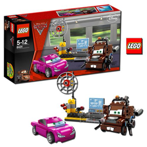 Cars Maters Spy Zone 8424