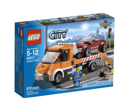 City Flatbed Truck 60017